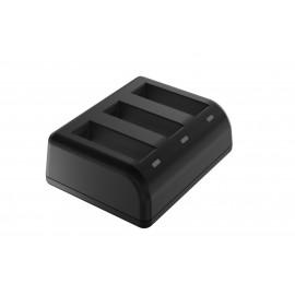 Ładowarka trójkanałowa Newell SDC-USB do akumulatorów AB1 do Osmo Action