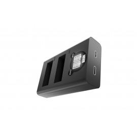 Ładowarka dwukanałowa Newell DL-USB-C do akumulatorów AHDBT-901