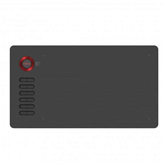 Tablet graficzny Veikk A15 - czerwony