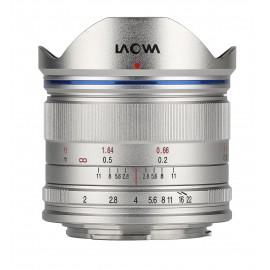 Obiektyw Venus Optics Laowa C-Dreamer Standard 7,5 mm f/2,0 do Micro 4/3 - srebrny
