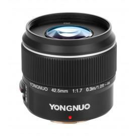 Obiektyw Yongnuo YN 42,5 mm f/1,7 do Micro 4/3