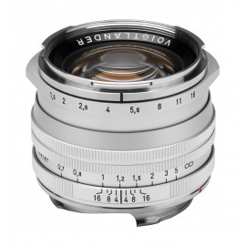 Obiektyw Voigtlander Nokton II 50 mm f/1,5 do Leica M - SC, srebrny