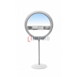 Lampa pierścieniowa LED Yongnuo YN128 II - WB (3200 K - 5500 K)