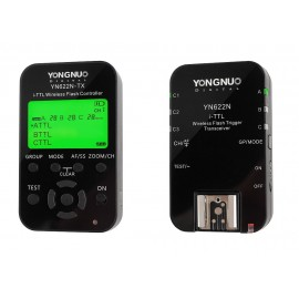 Zestaw kontroler + wyzwalacz radiowy Yongnuo YN622N-KIT do Nikon