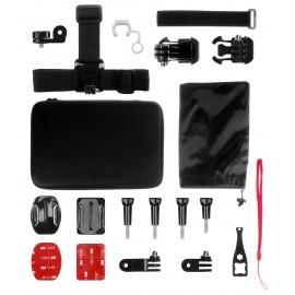 Zestaw akcesoriów do kamer sportowych Redleaf Case Set S
