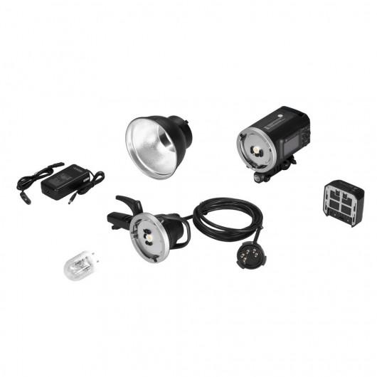 Quadralite Atlas 600 TTL 1-Light Head Kit
