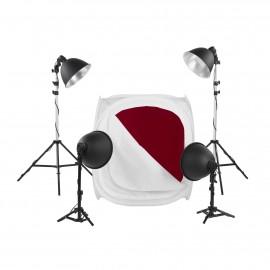 Quadralite LH-40 LED zestaw do fotografii bezcieniowej
