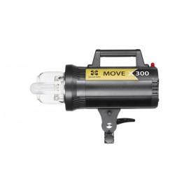Lampa Quadralite Move X 300 błyskowa studyjna