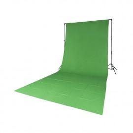 Quadralite tło tekstylne zielone 2,85x6m