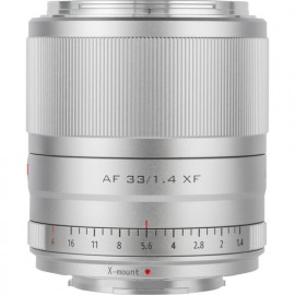 Viltrox AF 33 mm f 1.4 STM ED XF Fujifilm X Srebrny