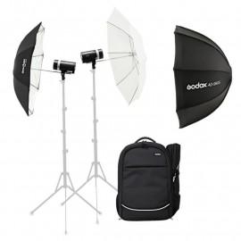 Zestaw Godox AD300 PRO TTL Dual dwie lampy i plecak