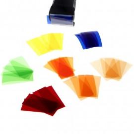 Zestaw filtrów kolorowych Godox CF-07 do Speedlite