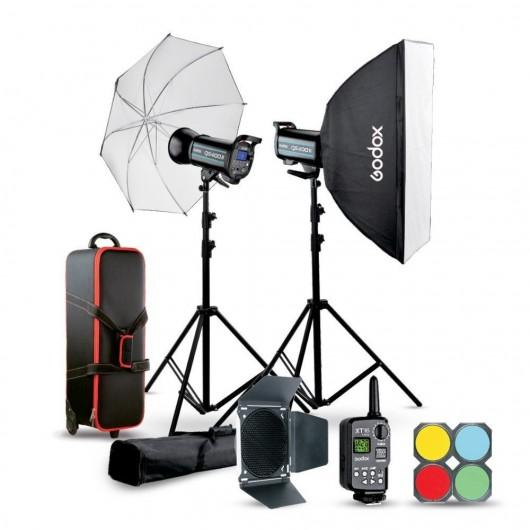 Godox QSII studio flash kit - QS400II-C