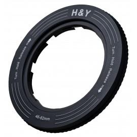 Uchwyt filtrowy regulowany H&Y Revoring 46-62 mm do filtrów 67 mm