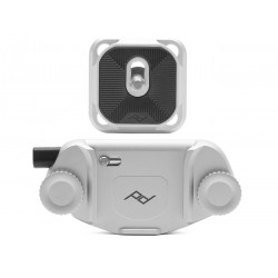 Peak Design Uchwyt Capture V3 z płytką standard – srebrny