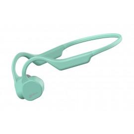 Słuchawki bezprzewodowe z technologią przewodnictwa kostnego Vidonn F3 - zielone