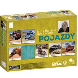 Gra edukacyjna memory - Pojazdy - Jacek Bonecki kolekcja autorska