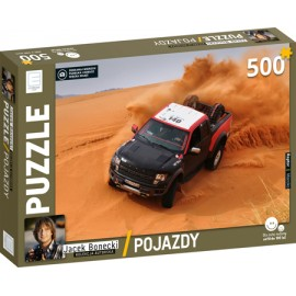 Puzzle 500 Pojazdy - Raptor - Jacek Bonecki kolekcja autorska
