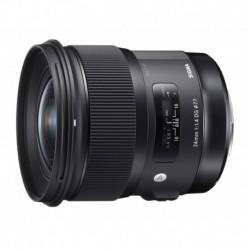 "Obiektyw Sigma 24 f/1.4 DG HSM Art Canon + Filtr UV NiSi + Tenba Tools Wrap 12"" black - GRATIS"