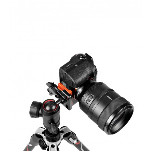 BEFREE Sony Alpha Advanced Lever statyw Manfrotto