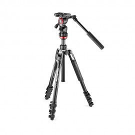 BEFREE Live Lever czarny statyw Manfrotto