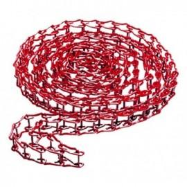 Łańcuch metalowy do 046 - czerwony