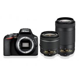 Lustrzanka NIKON D3500 + AF-P DX 18–55 VR + AF-P DX 70–300 VR + torba Nikon CF-EU11