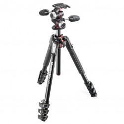 Manfrotto statyw MT190XPRO4 z głowicą MHXPRO-3W