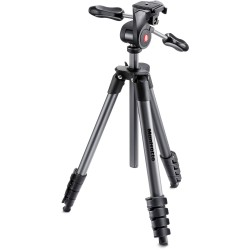 Statyw z głowicą 3D MANFROTTO Compact Advanced MKCOMPACTADV-BK