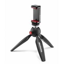 Statyw MANFROTTO PIXI Smart z klamrą do telefonu MKPIXICLAMP-BK