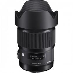 "Obiektyw SIGMA 20mm f/1.4 DG HSM ART Canon + Tenba Tools Wrap 12"" black - GRATIS"