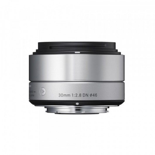 Sigma obiektyw digital A 30/2.8 DN Sony-E (SE) srebrny