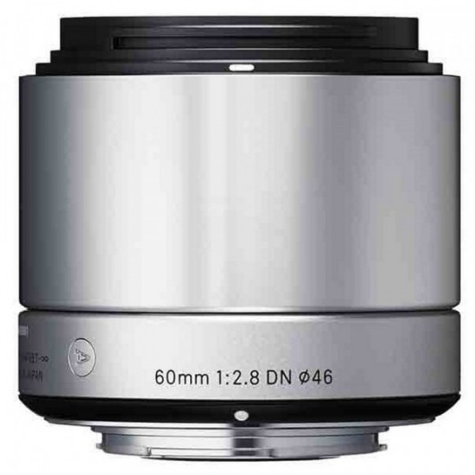 Sigma obiektyw digital A 60/2.8 DN micro 4/3 (MFT) srebrny