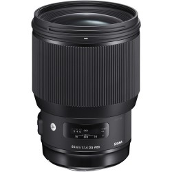 Obiektyw SIGMA 85mm F1.4 DG HSM ART Sony E + Filtr UV NiSi - GRATIS