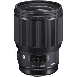 "Obiektyw SIGMA 85mm F1.4 DG HSM ART Sony E + Filtr UV NiSi + Tenba Tools Wrap 12"" Black - GRATIS"