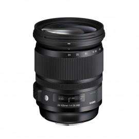 "Obiektyw SIGMA 24-105/4 A DG OS HSM Canon EF + Filtr UV NiSi + Tenba Tools Wrap 12"" Black - GRATIS"