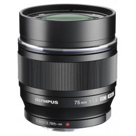 Obiektyw Olympus M.ZUIKO DIGITAL ED 75mm f/1.8 czarny - Gratis zestaw akcesoriów o wartości 115 zł