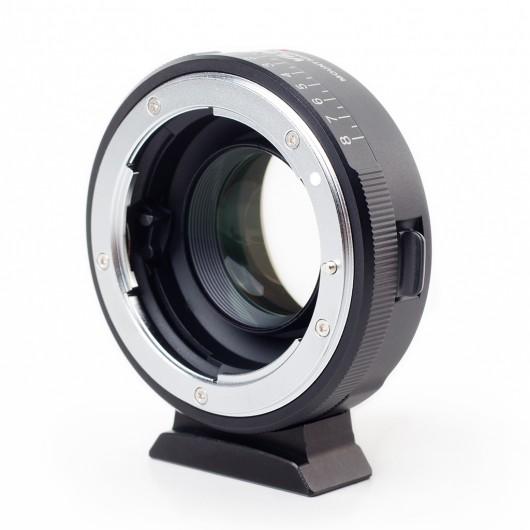 Viltrox NF-M43X adapter bagnetowy Nikon F - Micro 4/3 - 0,71x Speed-booster