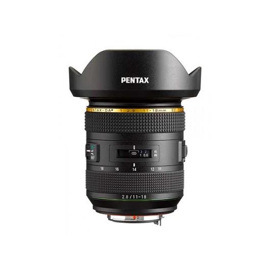 Obiektyw PENTAX 11-18mm f/2.8 Star HD DA ED DC AW + dodatkowe 2 lata gwarancji w przedsprzedaży