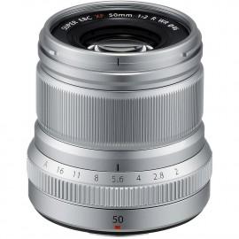 Obiektyw FUJIFILM FUJIFILM XF 50mm F2.0 R WR srebrny CASHBACK 215ZŁ GWARANCJA 3 LATA!