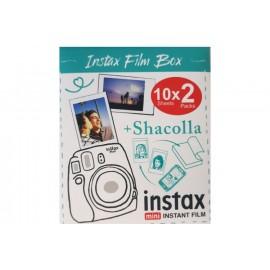 Zestaw - Wkład Fujifilm Instax Mini na 20 zdjęć + Shacolla Mini