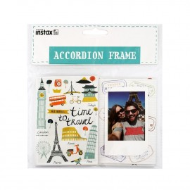 Ramka / Harmonijka na 10 zdjęć Fujifilm Instax Mini Accordion Frame - TRAVEL