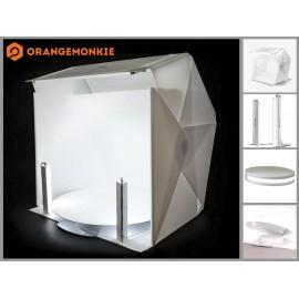 ORANGE MONKIE FOLDIO 360 zestaw do fotografii produktowej 360°