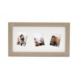 Ramka Fujifilm Instax Mini 3 Random Mount Photo Frame Light Oak na 3 zdjęcia