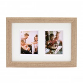 Ramka Fujifilm Instax Mini Twin Mount Photo Frame Natural na 2 zdjęcia