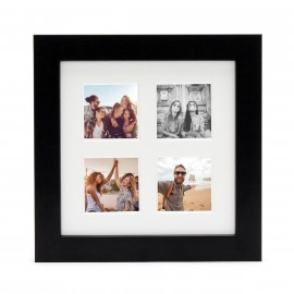 Ramka Fujifilm Instax Square 4 Mount Photo Frame Black na 4 zdjęcia