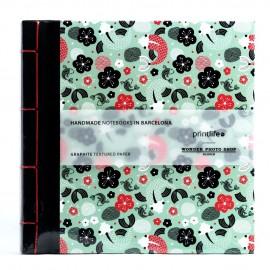 Album Printlife Instax Scrapbook - JAPAN Graphite 23x23cm z obszyciem