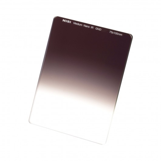 Filtr Połówkowy NiSi nano IR GND Medium 75x100mm