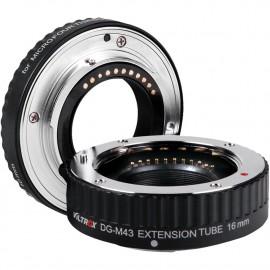 Pierścienie makro Viltrox DG-M43 10mm 16mm MICRO 4/3 (OLYMPUS, PANASONIC LUMIX)