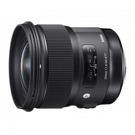 Obiektyw Sigma 24 f/1.4 DG HSM Art Nikon